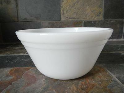 Vintage Federal Milk Glass Small Mixing Bowl Smallest Nesting Bowl All White