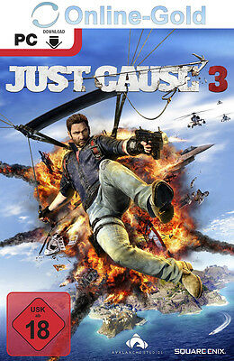Just Cause 3 Key [PC] Spiele - STEAM Digital Download Game Code [NEU] [DE] [EU]