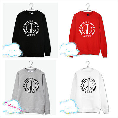 Girls generation SNSD sweater cotton unisex Kpop New