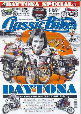CLASSIC BIKE-April 2015 - (NEW)*Post Included To UK/Europe/USA/Canada