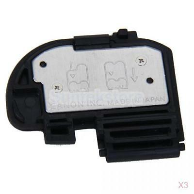 3x New OEM Battery Cover/Door/Case for Canon EOS 40D 50D