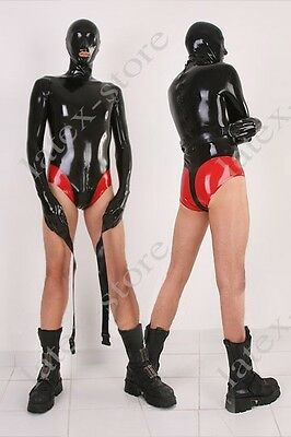 531 Latex Rubber Gummi Swimsuit Leotard binder suit Mask Hood customized 0.4mm