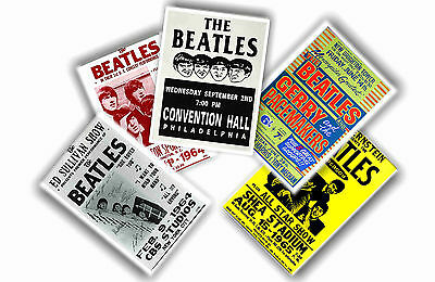 Beatles - Set Of 5 A4 Posters # 1