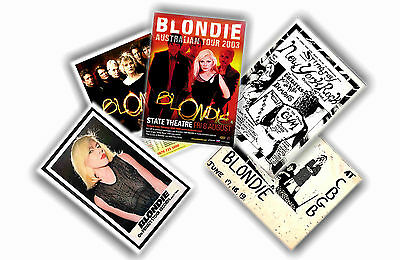 Blondie - Set Of 5 A4 Posters # 1