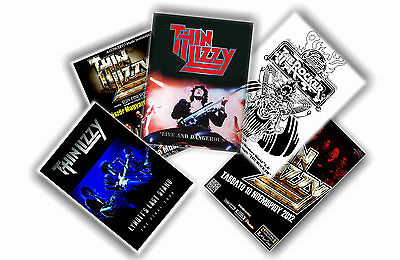 Thin Lizzy - Set Of 5 A4 Posters # 1
