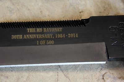 AUTHORIZED LIMITED EDITION 30TH ANNIVERSARY ONTARIO US M9 BAYONET KNIFE USA