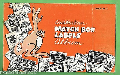 #T19. ALBUM No. 2  FOR AUSTRALIAN MATCHBOX LABELS, PHILLUMENY