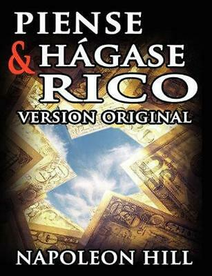 Piense y Hagase Rico by Napoleon Hill (Spanish) Paperback Book Free Shipping!
