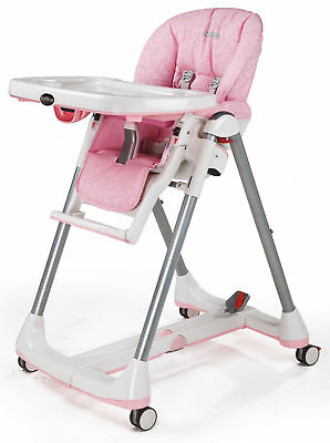 Peg Perego Prima Pappa Diner High Chair Savana Rose