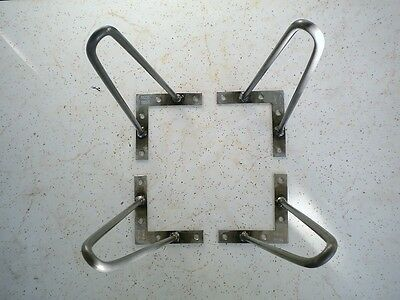 """4 Hairpin Metal Legs Professionally Made For Eames Time Era 10"""" Long 5/16"""" dia."""