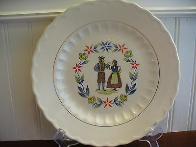Vintage Knowles Mayflower Dinner Plate Styled by Kalla
