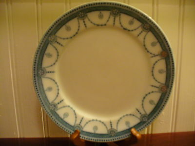 "Wood and Sons Antique Royal Semi Porcelain Venice 7.75""  Plate"