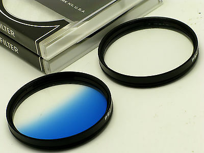 82mm Graduated Blue + 4 Point Star Filter fit  Nikon Canon Sigma SLR DSLR Lens