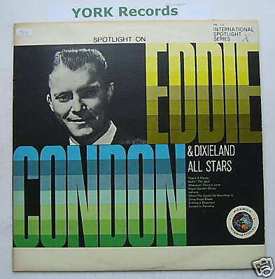 EDDIE CONDON - Spotlight On ... - Ex Con LP Record