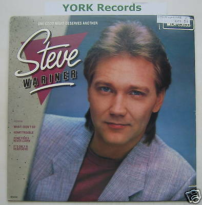 STEVE WARINER - One Good Night Deserves Another - Ex LP