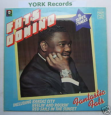 FATS DOMINO - Fantastic Fats - Excellent Con LP Record