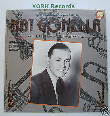 NAT GONELLA - Golden Age Of ... - Ex Con LP Record