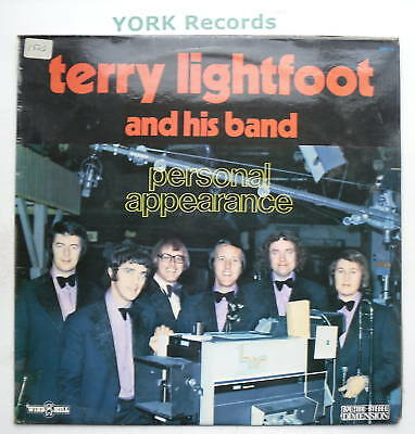 TERRY LIGHTFOOT - Personal Appearance - Ex LP Record