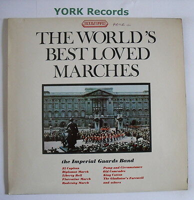 WORLD'S BEST LOVED MARCHES - Imperial Guards Band - Ex LP Record Boulevard 4016