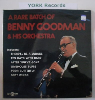 BENNY GOODMAN - A Rare Batch Of - Ex Con LP Record