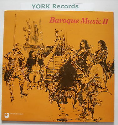 A304 OU9 - BAROQUE MUSIC II - London Virtuosi - Ex LP