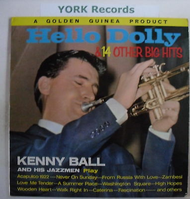 KENNY BALL - Hello Dolly - Excellent Con LP Record