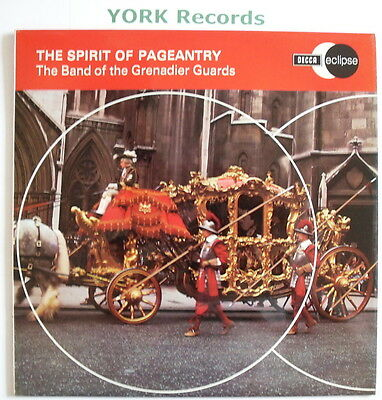 BAND OF THE GRENADIER GUARDS - Spirit Of Pageantry - Ex LP Record Decca ECS 2008