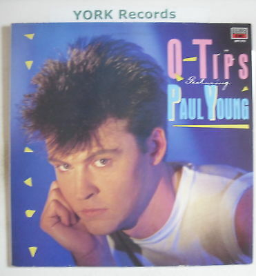 Q-TIPS Featuring PAUL YOUNG - Excellent Con LP Record