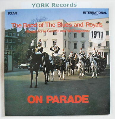 BAND OF THE BLUES & ROYALS - On Parade - Ex LP Record