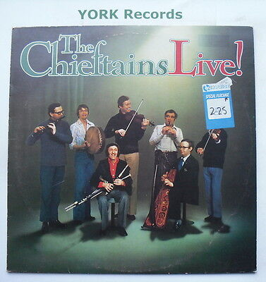 CHIEFTAINS - Live! - Excellent Condition LP Record Island ILPS 9501