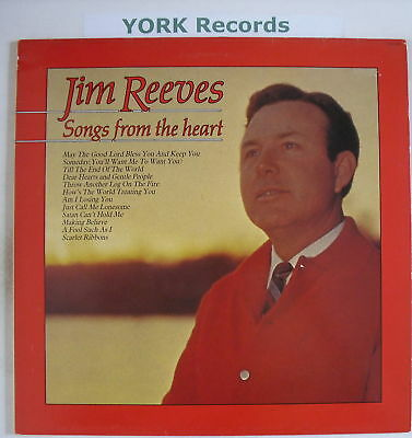 JIM REEVES - Songs From The Heart - Ex Con LP Record