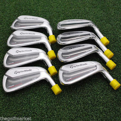 TaylorMade Golf TOUR ISSUE Tour Preferred CB Irons 3-PW Heads ONLY Ti21.2 - NEW