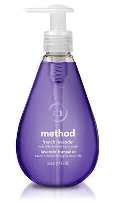 Method Gel Hand Wash Handsoap 354ml - French Lavender Scented Triclosan Free