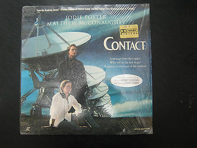 CONTACT, JODIE FOSTER, MATTHEW McCONAUGHEY,   A  LASER DISC,  CAFEB 74
