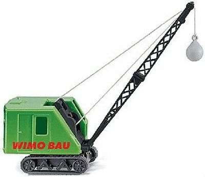 HO 1:87 Wiking Krupp-Ardelt Tracked Crawler Crane w/Wrecking Ball # 66399 Model
