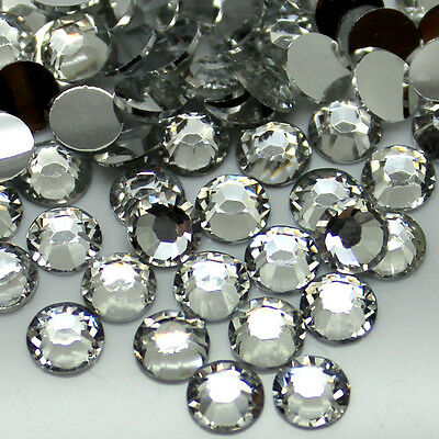Wholesale 5000pcs 5mm 14 Facets Resin Flatback Rhinestones Clear Crystal