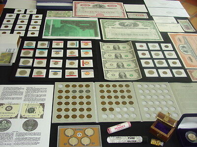 GREAT! US COIN COLLECTION LOT ~ GOLD~SILVER~ MORE! MINT ~ PROOF SET ~HUGE ESTATE