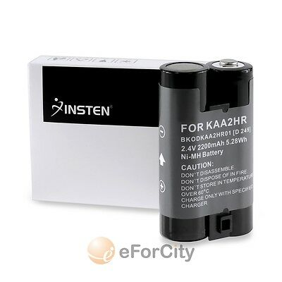 FOR KODAK KAA2HR RECHARGEABLE Ni-MH 2 AA BATTERY PACK