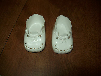 American Girl  Bitty Baby White Scallop Shoes Sandals Fits Bitty Twins