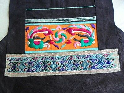 Chinese Minority people's local cloth hand embroidery Bellyband