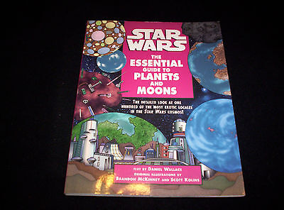 Star Wars: The Essential Guide To Planets and Moons by Daniel Wallace (1998, PB)