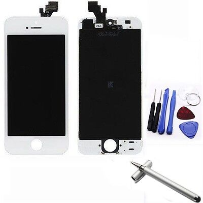 Apple Iphone 5 White Replacement LCD Touch Screen Digitizer Glass Assembly +Pen3