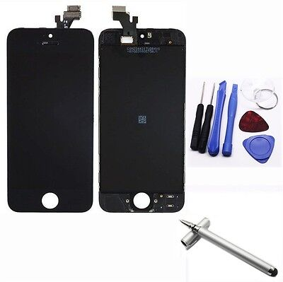 Apple Iphone 5 Black Replacement LCD Touch Screen Digitizer Glass Assembly +Pen