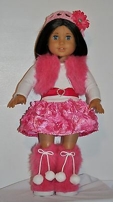 AMERICAN MADE DOLL CLOTHES FOR 18 INCH GIRL DOLLS DRESS LOT 3-COUTURE COLLECTION