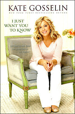 I Just Want You To Know (Book) **New**
