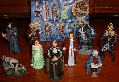 VERY RARE LOTR RETURN OF THE KING FIGURE SET 3 FROM EUR