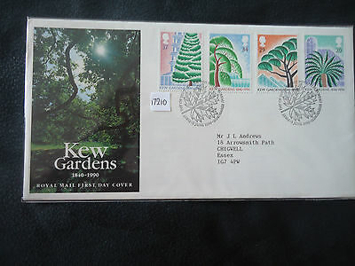 great britain 1990 kew gardens (bureau postmark) first day cover