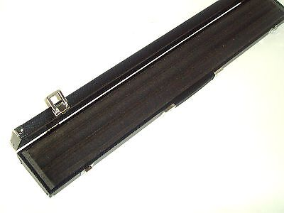 Black Hard 3 Piece Snooker Cue Case