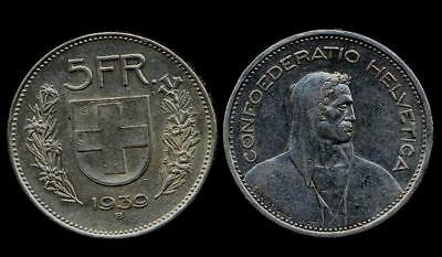 SWITZERLAND 5 Francs 1939