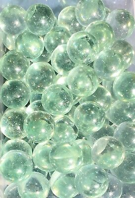 HOM Glass Marbles 14mm Lustered Soap Bubble Collectors or traditional solitair